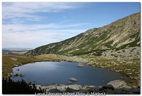 Lacul Zănoaga Stânei, foto Marius