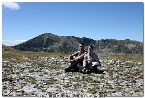 Pe vârful Ieşu, foto Marius
