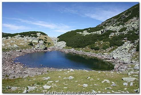 Lacul Pencu, foto Marius