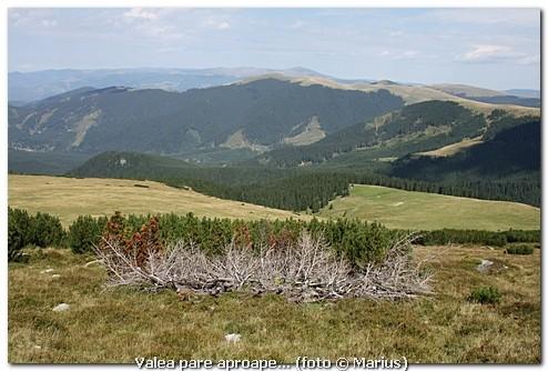 Valea pare aproape..., foto Marius