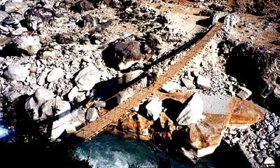 Pod peste Kali Gandaki, foto Marius