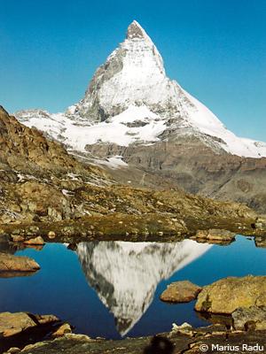 Matterhorn reflectat in Riffelsee, foto Marius